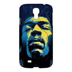 Gabz Jimi Hendrix Voodoo Child Poster Release From Dark Hall Mansion Samsung Galaxy S4 I9500/i9505 Hardshell Case