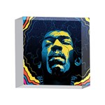Gabz Jimi Hendrix Voodoo Child Poster Release From Dark Hall Mansion 4 x 4  Acrylic Photo Blocks Front