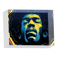 Gabz Jimi Hendrix Voodoo Child Poster Release From Dark Hall Mansion 5 x 7  Acrylic Photo Blocks