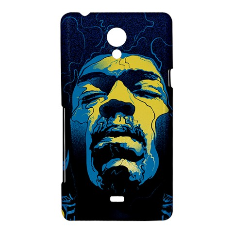 Gabz Jimi Hendrix Voodoo Child Poster Release From Dark Hall Mansion Sony Xperia T