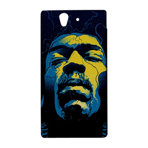 Gabz Jimi Hendrix Voodoo Child Poster Release From Dark Hall Mansion Sony Xperia Z
