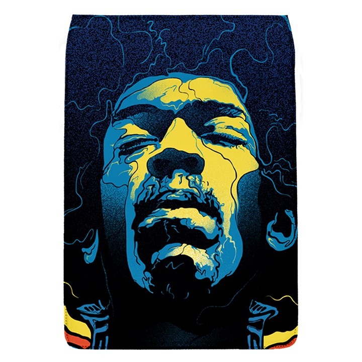Gabz Jimi Hendrix Voodoo Child Poster Release From Dark Hall Mansion Flap Covers (S)