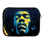 Gabz Jimi Hendrix Voodoo Child Poster Release From Dark Hall Mansion Apple iPad 2/3/4 Zipper Cases Front