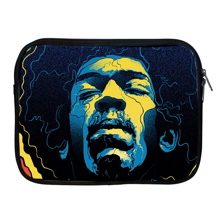 Gabz Jimi Hendrix Voodoo Child Poster Release From Dark Hall Mansion Apple iPad 2/3/4 Zipper Cases