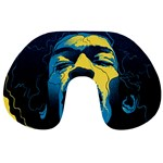 Gabz Jimi Hendrix Voodoo Child Poster Release From Dark Hall Mansion Travel Neck Pillows Back
