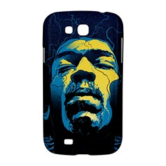 Gabz Jimi Hendrix Voodoo Child Poster Release From Dark Hall Mansion Samsung Galaxy Grand GT-I9128 Hardshell Case