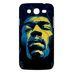 Gabz Jimi Hendrix Voodoo Child Poster Release From Dark Hall Mansion Samsung Galaxy Mega 5.8 I9152 Hardshell Case