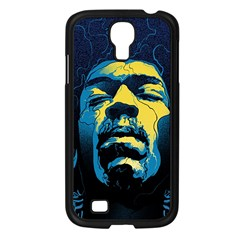 Gabz Jimi Hendrix Voodoo Child Poster Release From Dark Hall Mansion Samsung Galaxy S4 I9500/ I9505 Case (black)