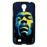 Gabz Jimi Hendrix Voodoo Child Poster Release From Dark Hall Mansion Samsung Galaxy S4 I9500/ I9505 Case (Black) Front