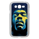 Gabz Jimi Hendrix Voodoo Child Poster Release From Dark Hall Mansion Samsung Galaxy Grand DUOS I9082 Case (White) Front