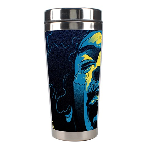 Gabz Jimi Hendrix Voodoo Child Poster Release From Dark Hall Mansion Stainless Steel Travel Tumblers