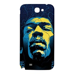 Gabz Jimi Hendrix Voodoo Child Poster Release From Dark Hall Mansion Samsung Note 2 N7100 Hardshell Back Case