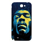 Gabz Jimi Hendrix Voodoo Child Poster Release From Dark Hall Mansion Samsung Note 2 N7100 Hardshell Back Case Front