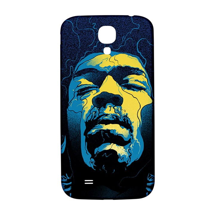 Gabz Jimi Hendrix Voodoo Child Poster Release From Dark Hall Mansion Samsung Galaxy S4 I9500/I9505  Hardshell Back Case