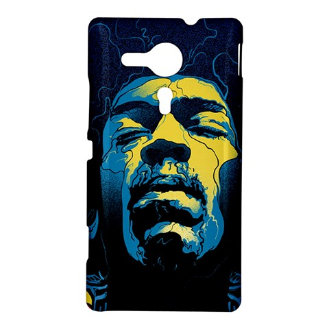 Gabz Jimi Hendrix Voodoo Child Poster Release From Dark Hall Mansion Sony Xperia SP