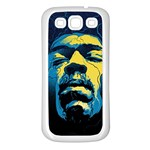 Gabz Jimi Hendrix Voodoo Child Poster Release From Dark Hall Mansion Samsung Galaxy S3 Back Case (White) Front