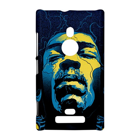 Gabz Jimi Hendrix Voodoo Child Poster Release From Dark Hall Mansion Nokia Lumia 925