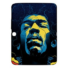 Gabz Jimi Hendrix Voodoo Child Poster Release From Dark Hall Mansion Samsung Galaxy Tab 3 (10.1 ) P5200 Hardshell Case