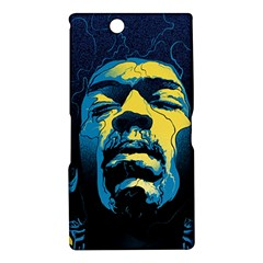 Gabz Jimi Hendrix Voodoo Child Poster Release From Dark Hall Mansion Sony Xperia Z Ultra