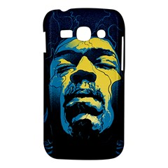 Gabz Jimi Hendrix Voodoo Child Poster Release From Dark Hall Mansion Samsung Galaxy Ace 3 S7272 Hardshell Case