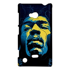 Gabz Jimi Hendrix Voodoo Child Poster Release From Dark Hall Mansion Nokia Lumia 720