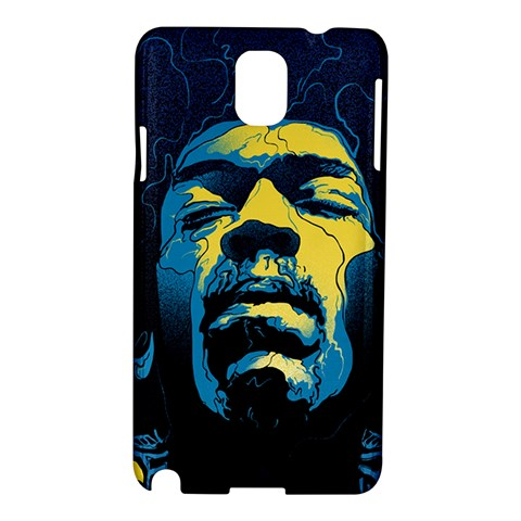 Gabz Jimi Hendrix Voodoo Child Poster Release From Dark Hall Mansion Samsung Galaxy Note 3 N9005 Hardshell Case