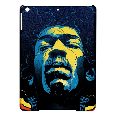 Gabz Jimi Hendrix Voodoo Child Poster Release From Dark Hall Mansion iPad Air Hardshell Cases