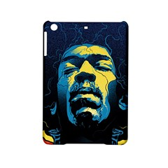 Gabz Jimi Hendrix Voodoo Child Poster Release From Dark Hall Mansion iPad Mini 2 Hardshell Cases