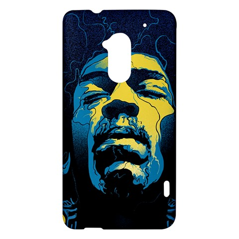 Gabz Jimi Hendrix Voodoo Child Poster Release From Dark Hall Mansion HTC One Max (T6) Hardshell Case