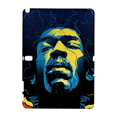 Gabz Jimi Hendrix Voodoo Child Poster Release From Dark Hall Mansion Samsung Galaxy Note 10.1 (P600) Hardshell Case