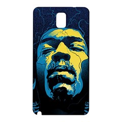 Gabz Jimi Hendrix Voodoo Child Poster Release From Dark Hall Mansion Samsung Galaxy Note 3 N9005 Hardshell Back Case