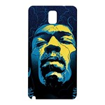 Gabz Jimi Hendrix Voodoo Child Poster Release From Dark Hall Mansion Samsung Galaxy Note 3 N9005 Hardshell Back Case Front