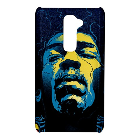 Gabz Jimi Hendrix Voodoo Child Poster Release From Dark Hall Mansion LG G2