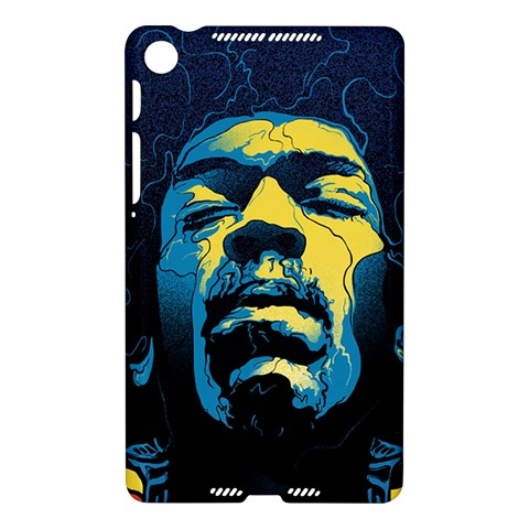 Gabz Jimi Hendrix Voodoo Child Poster Release From Dark Hall Mansion Nexus 7 (2013)