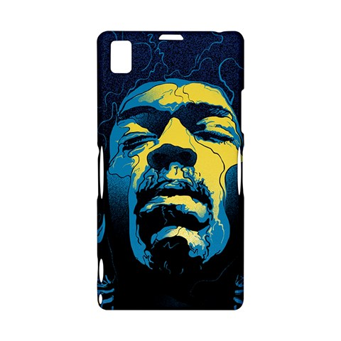 Gabz Jimi Hendrix Voodoo Child Poster Release From Dark Hall Mansion Sony Xperia Z1