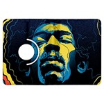 Gabz Jimi Hendrix Voodoo Child Poster Release From Dark Hall Mansion Kindle Fire HDX Flip 360 Case Front