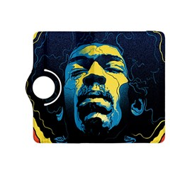 Gabz Jimi Hendrix Voodoo Child Poster Release From Dark Hall Mansion Kindle Fire Hdx 8 9  Flip 360 Case