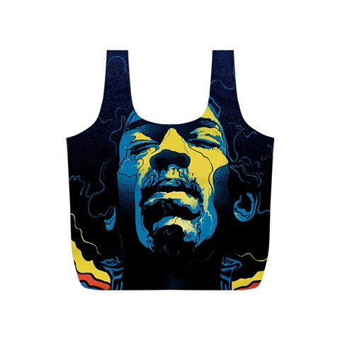 Gabz Jimi Hendrix Voodoo Child Poster Release From Dark Hall Mansion Full Print Recycle Bags (S)