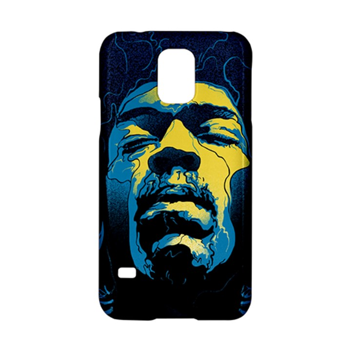 Gabz Jimi Hendrix Voodoo Child Poster Release From Dark Hall Mansion Samsung Galaxy S5 Hardshell Case