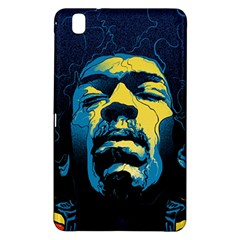 Gabz Jimi Hendrix Voodoo Child Poster Release From Dark Hall Mansion Samsung Galaxy Tab Pro 8 4 Hardshell Case