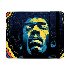 Gabz Jimi Hendrix Voodoo Child Poster Release From Dark Hall Mansion Samsung Galaxy Tab Pro 8.4  Flip Case