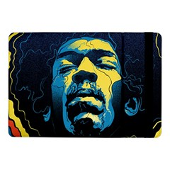 Gabz Jimi Hendrix Voodoo Child Poster Release From Dark Hall Mansion Samsung Galaxy Tab Pro 10 1  Flip Case