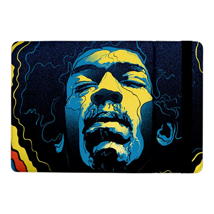 Gabz Jimi Hendrix Voodoo Child Poster Release From Dark Hall Mansion Samsung Galaxy Tab Pro 10.1  Flip Case