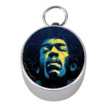 Gabz Jimi Hendrix Voodoo Child Poster Release From Dark Hall Mansion Mini Silver Compasses Front