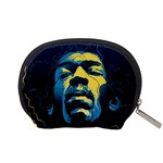 Gabz Jimi Hendrix Voodoo Child Poster Release From Dark Hall Mansion Accessory Pouches (Small)  Back