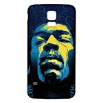 Gabz Jimi Hendrix Voodoo Child Poster Release From Dark Hall Mansion Samsung Galaxy S5 Back Case (White) Front