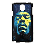 Gabz Jimi Hendrix Voodoo Child Poster Release From Dark Hall Mansion Samsung Galaxy Note 3 Neo Hardshell Case (Black) Front