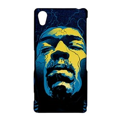 Gabz Jimi Hendrix Voodoo Child Poster Release From Dark Hall Mansion Sony Xperia Z2