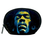 Gabz Jimi Hendrix Voodoo Child Poster Release From Dark Hall Mansion Accessory Pouches (Medium)  Front