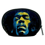 Gabz Jimi Hendrix Voodoo Child Poster Release From Dark Hall Mansion Accessory Pouches (Medium)  Back
